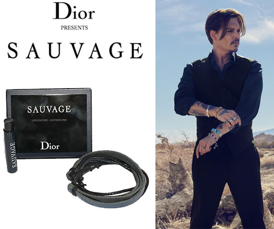 Echantillon n°1544: Dior – Bracelet Sauvage