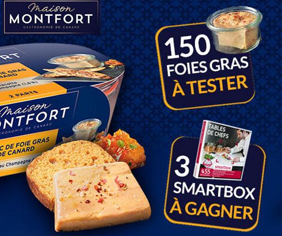 Jeu Concours n°456: MontFort – Foies Gras et SmartBox