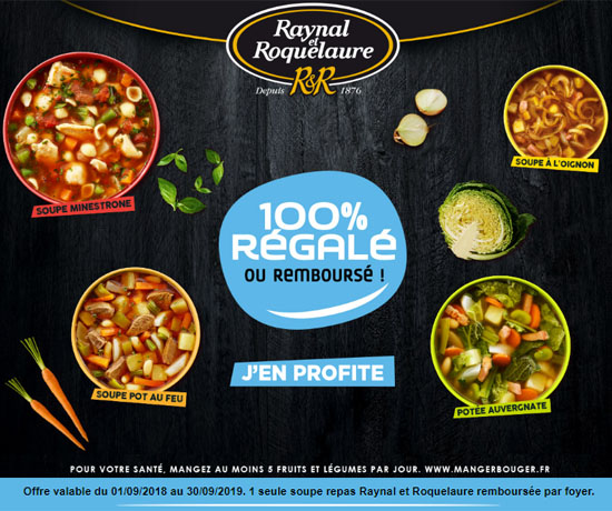 Test n°882: Raynal & Roquelaure – Soupes