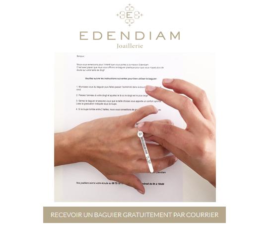 Echantillon n°1782 : Edendiam – Baguier en plastique