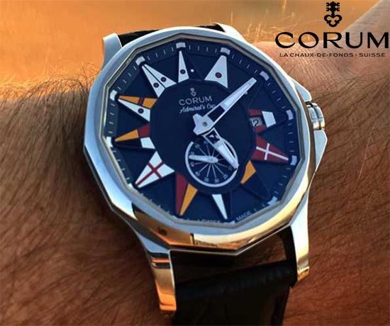 Jeu Concours n°459 : Corum – Montre Admiral Legend 42 Automatic