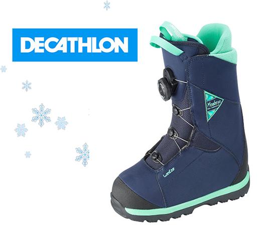 Test n°893 : Decathlon – Boots femme snowboard