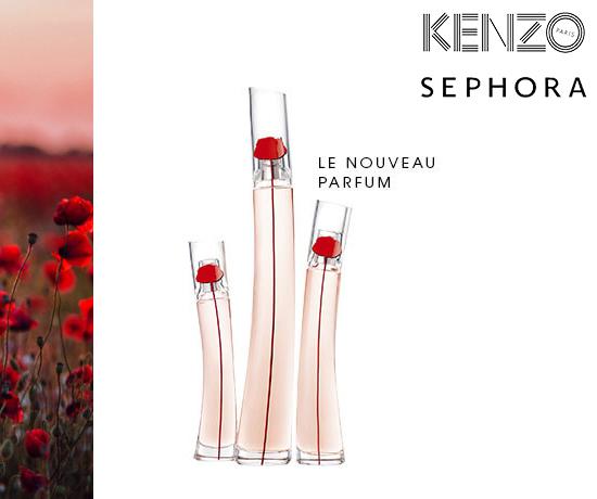 Jeu concours n°464 : Sephora et Kenzo – échantillons parfum