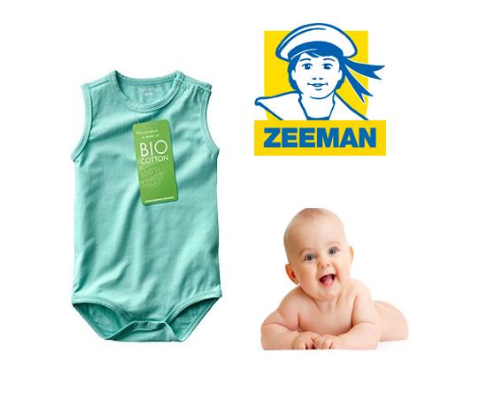 Echantillon n°1578 : Zeeman – Body pour Bébé