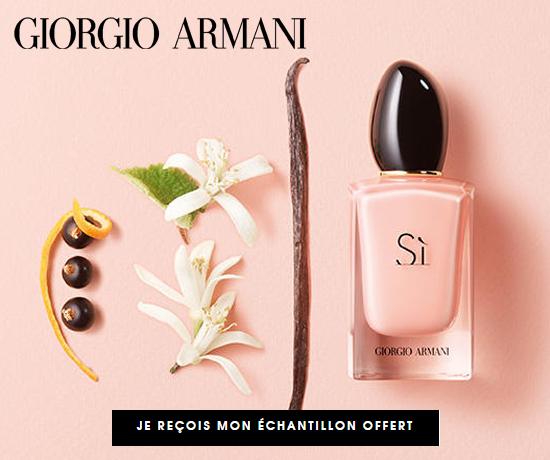 Echantillon n°1795 : Giorgio Armani – Parfum SI