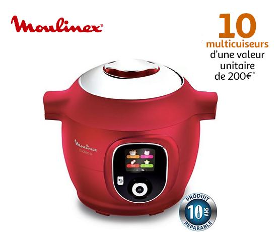 Jeu concours n°470 : Moulinex – Cookeo