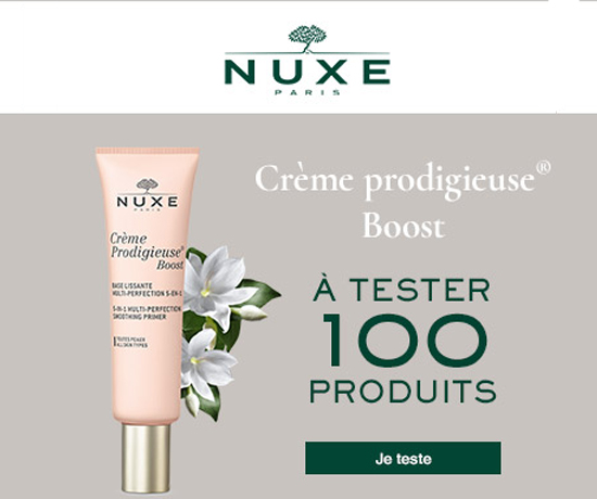 Test n° 926 : Nuxe – base lissante