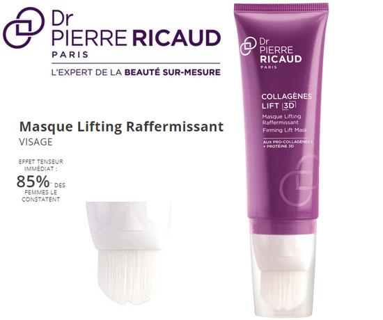Test n°930 : Dr Pierre Ricaud – Masque Lifting Raffermissant