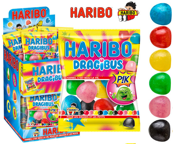 Échantillon Gratuit : Haribo – Dragibus Pik