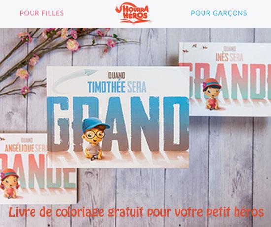 Bon Plan Gratuit: Hourra Héros – Livre de coloriage GRATUIT