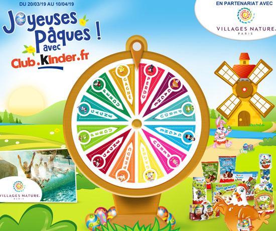 Jeu-Concours Gratuit : Kinder – 525 Paquets de Friandises