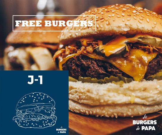 Bon Plan Gratuit: Les Burgers de Papa – Burgers GRATUITS