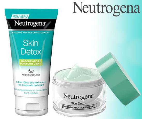 test gratuit neutrogena skin d tox tous testeurs. Black Bedroom Furniture Sets. Home Design Ideas