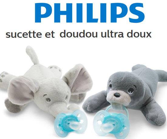 Test N°936: Philips – Doudous-Sucettes Doux