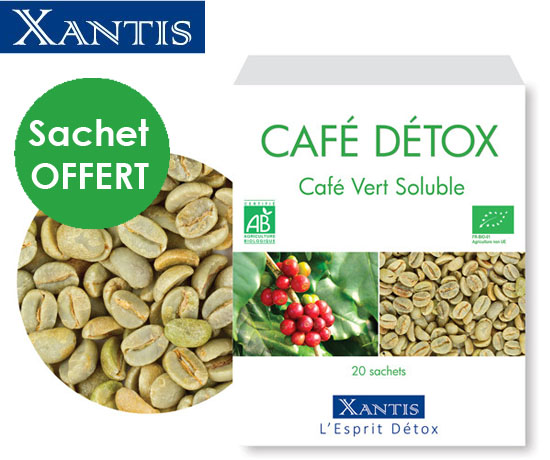 Échantillon N°1799 : Xantis – Café Détox