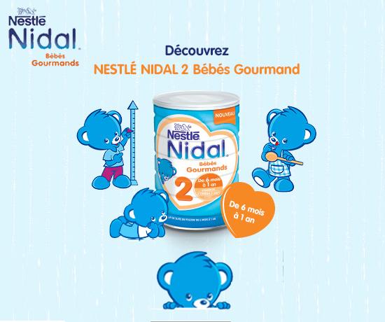 Test Gratuit : Nestlé – Lait en poudre bébé