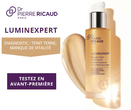 Test Gratuit: Dr Pierre Ricaud – Booster Flash Luminexpert