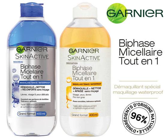 Echantillon Gratuit: Garnier – Biphase Micellaire