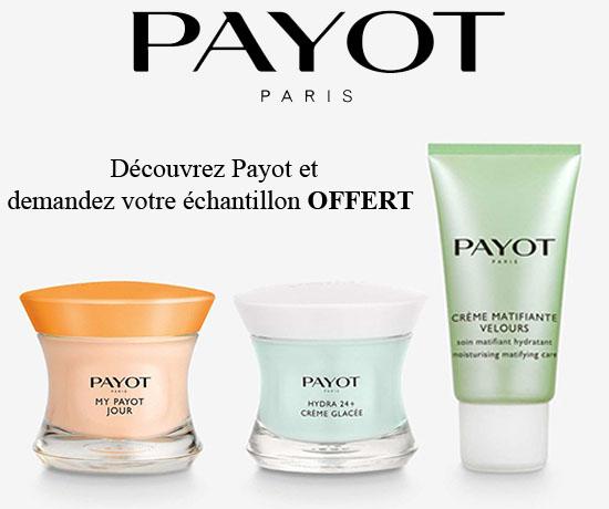 Echantillon Gratuit: Payot – Soins Visage