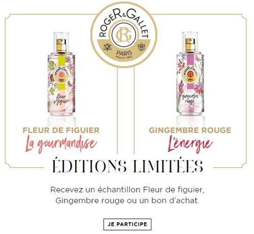 Echantillon Gratuit: Roger & Gallet – Parfums