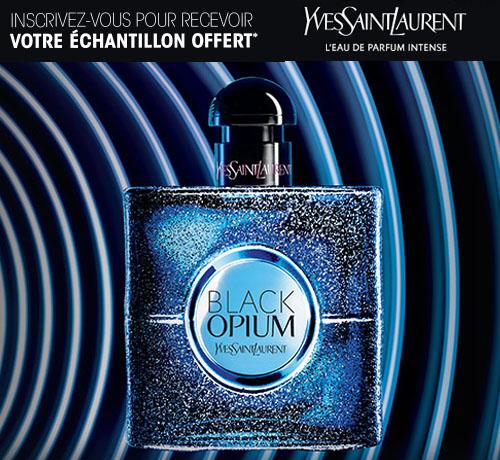 Echantillon Gratuit: Yves Saint Laurent – Parfum Black Opium