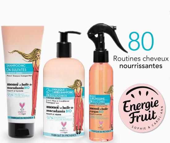 Test Gratuit : Energie Fruit – Routines Cheveux