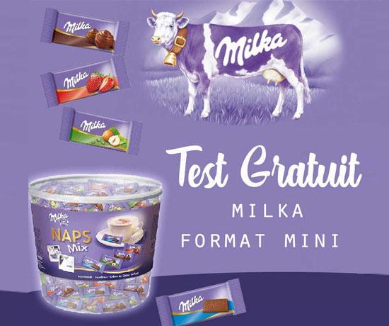 Test Gratuit : Milka – Chocolats Miniatures