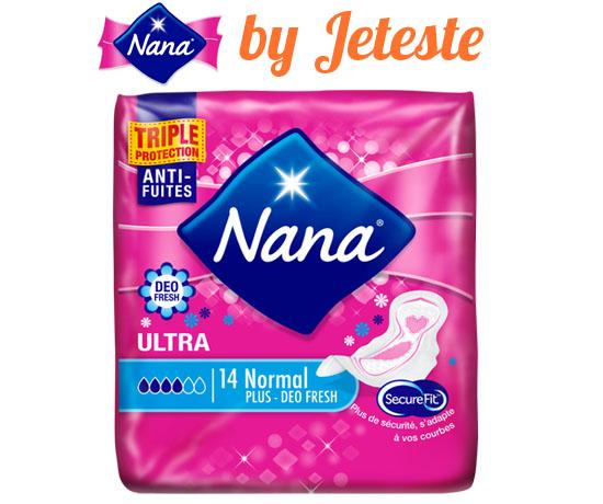 Test Gratuit : Nana – Serviettes Hygiéniques