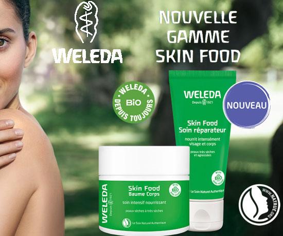 Test Gratuit : Weleda – Lots Skin Food