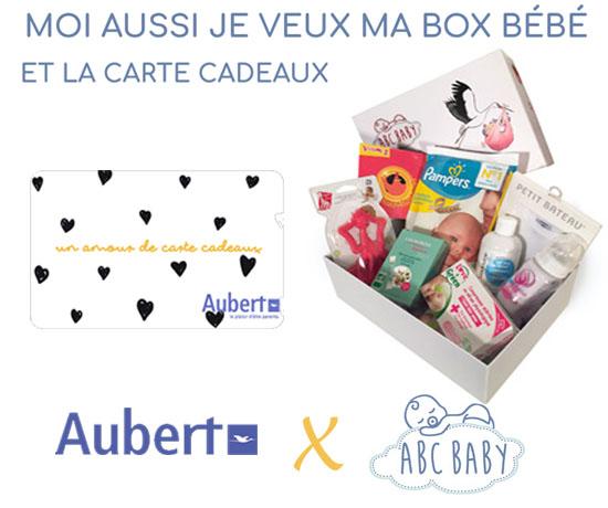 Jeux concours Box bébé et carte cadeaux