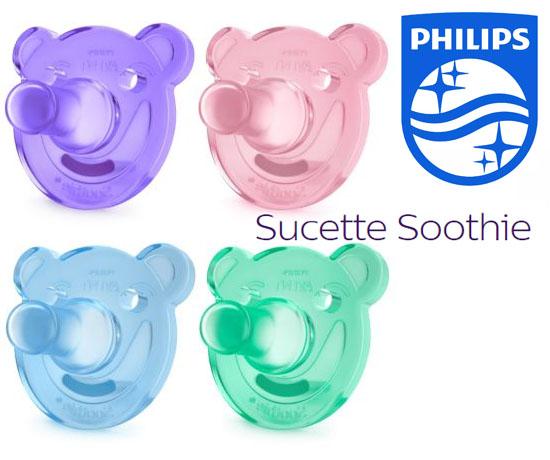 Sucettes Soothie Philips Gratuites