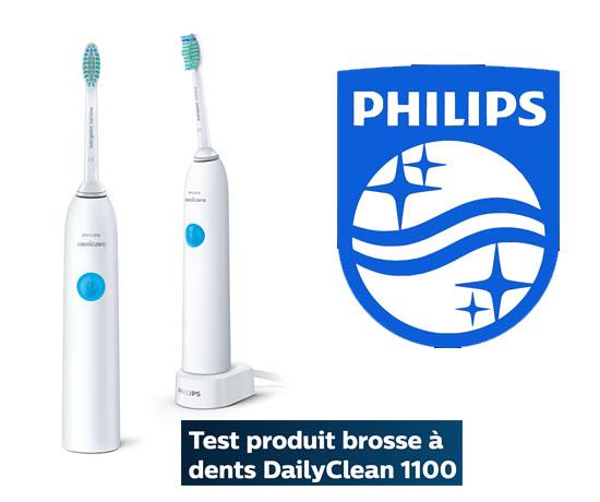 Test Gratuit : Philips – Brosse à dents électrique