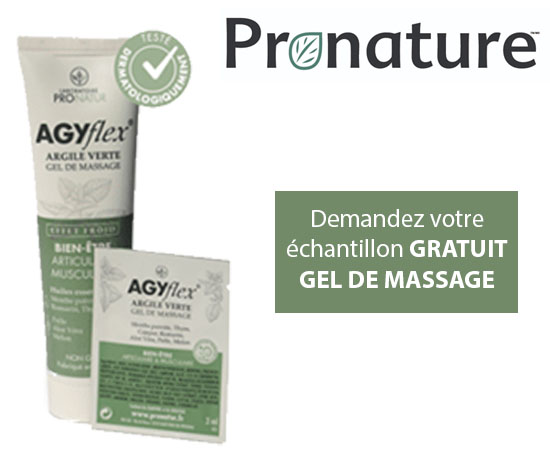 Echantillon Gratuit : ProNatur – Gel de Massage