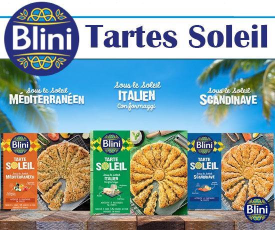 Tartes Soleil Blini offertes