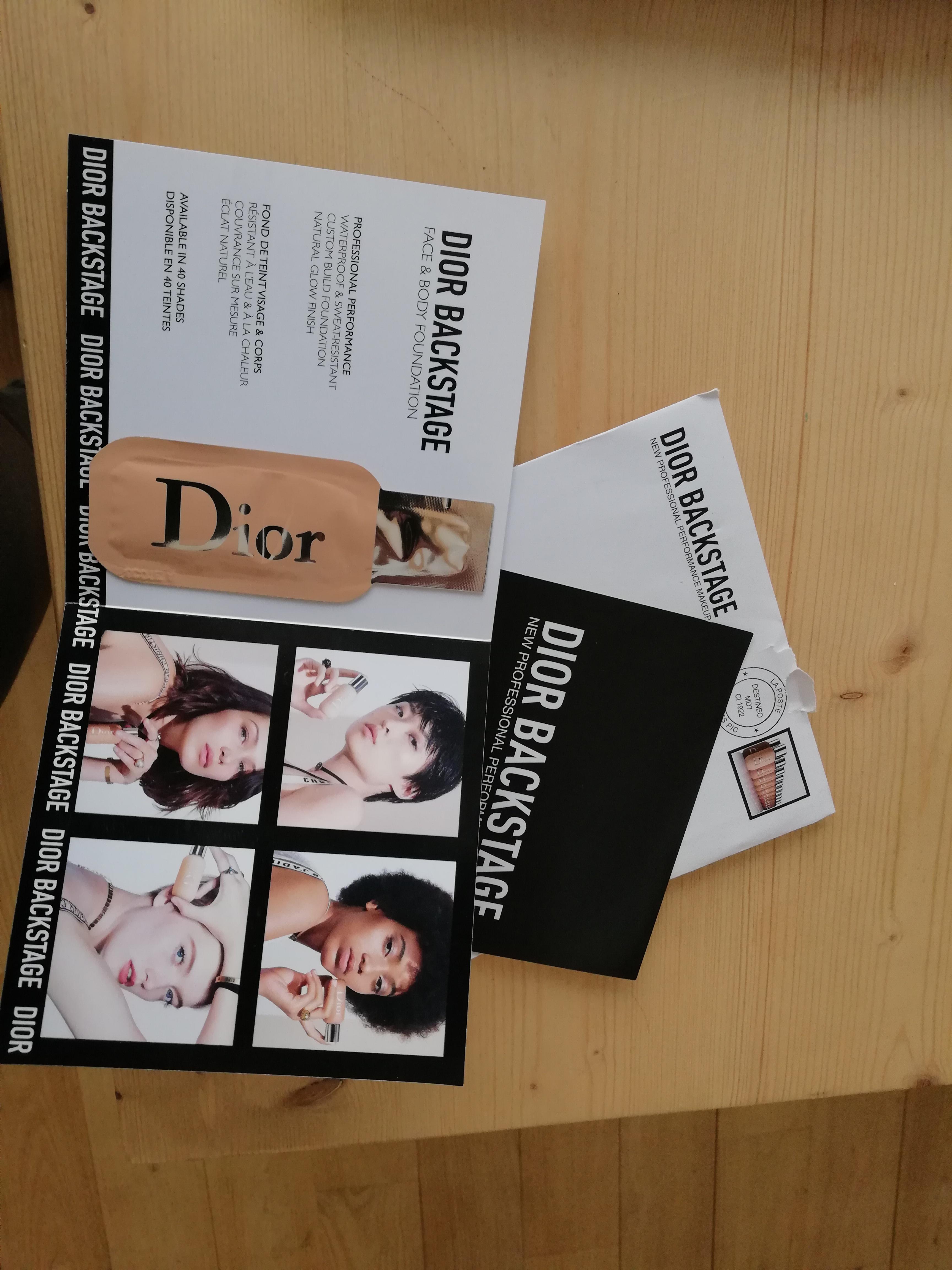 Galerie : Dior – Fond de Teint Backstage