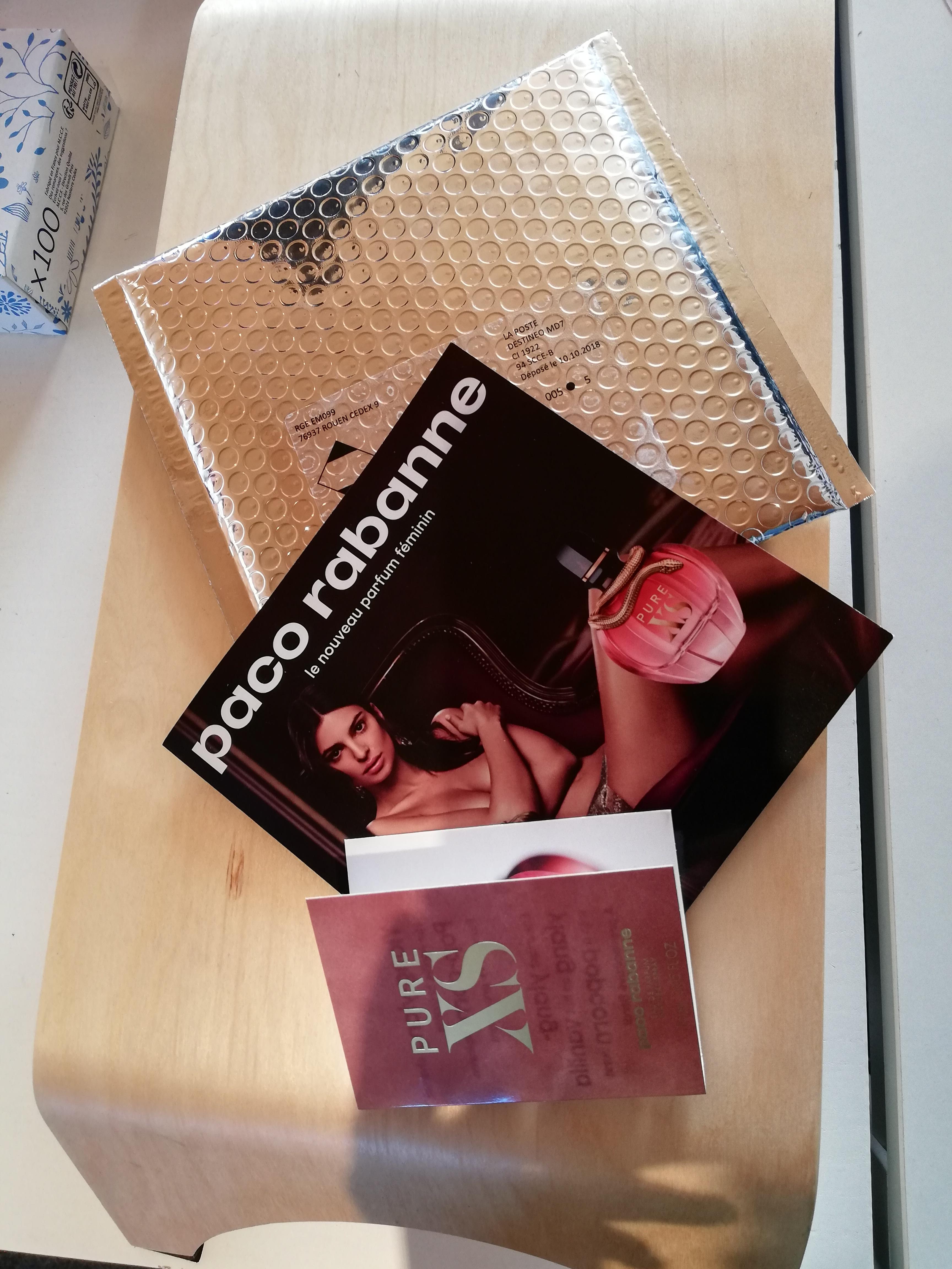 Galerie : Paco Rabanne – Tatouage Parfumé Pure XS