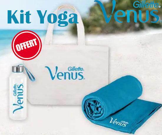 Jeu Concours : Gillette Venus – Kit Yoga