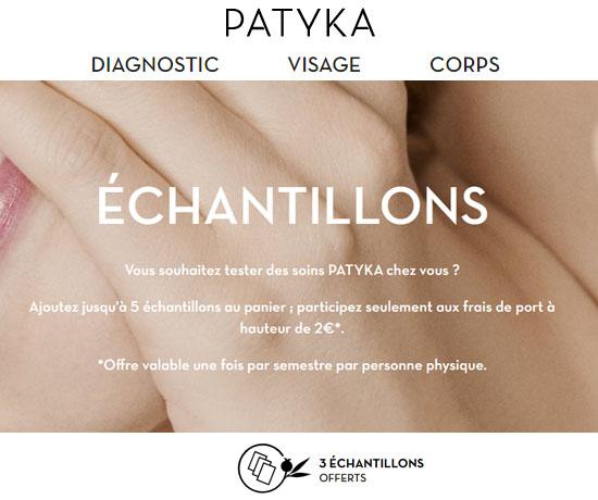 Echantillon Gratuit : Patyka – Cosmétiques