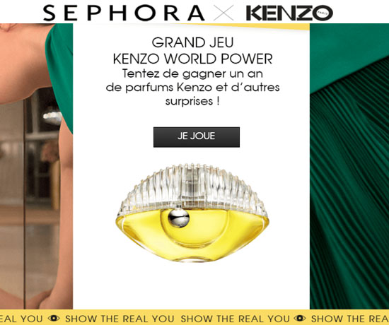 Jeu Concours : Sephora – Parfums Kenzo