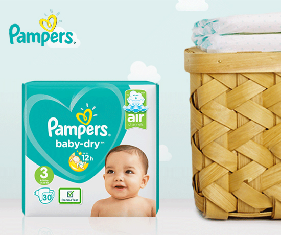 Test Gratuit : Pampers – Couches Baby Dry