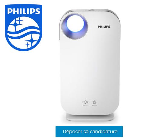 Test Gratuit : Philips – Purificateur d'Air