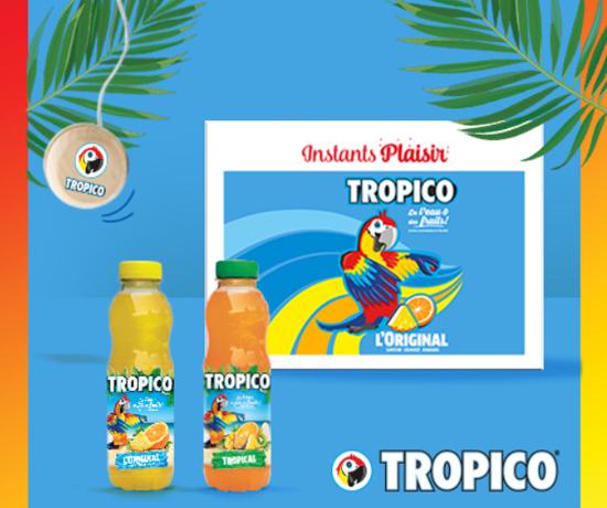 Jeu concours : Tropico – Coffret boissons