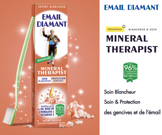 Test Gratuit : Email Diamant – Dentifrice Mineral Therapist
