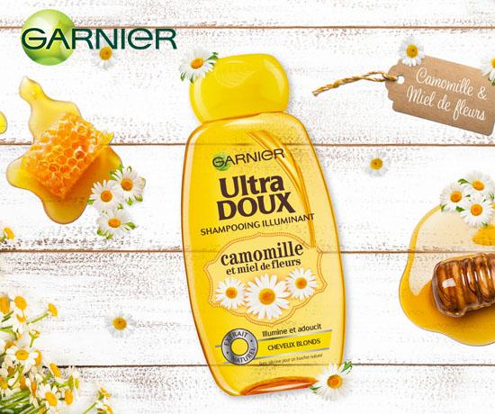 Test Gratuit : Garnier – Shampoing à la Camomille
