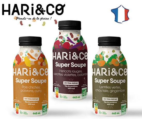 Test Gratuit : Hari&Co – Soupes Bio