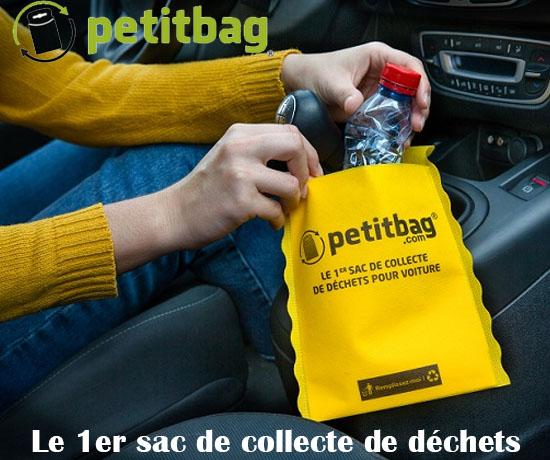 Echantillon Gratuit : petitbag – Sac Poubelle pour voiture