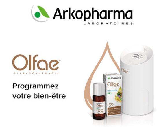 première offre d'Olfactothérapie de Arkopharma