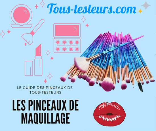 Guide Pinceaux Maquillage