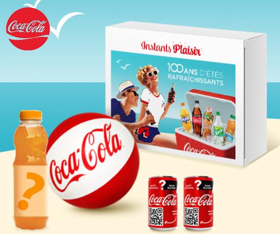 Jeu Concours Instant Plaisir Coca- Cola