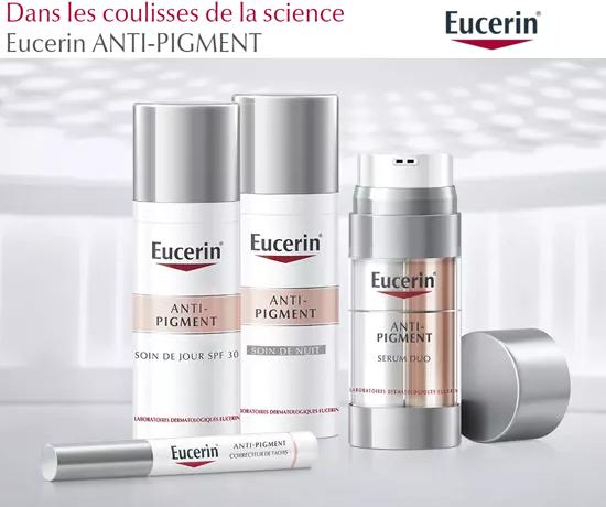 Routine Eucerin de soins jour anti-taches anti pigment
